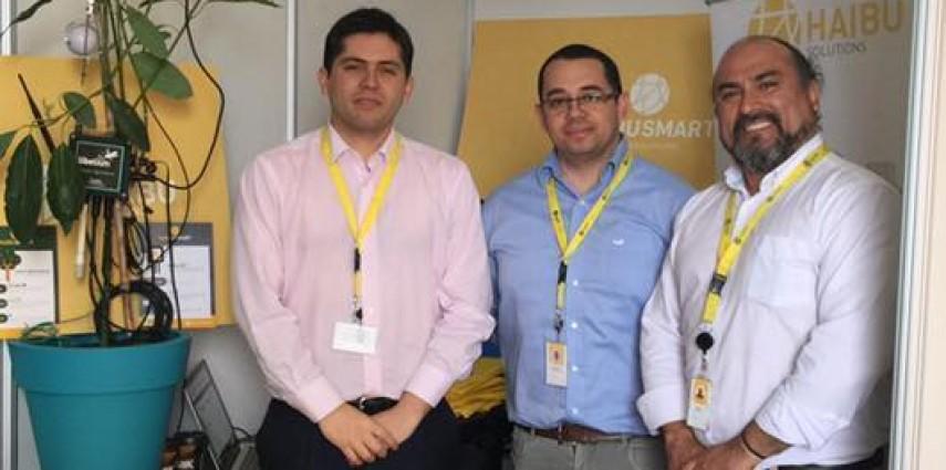 Haibu Solutions en feria de emprendimientos tecnológicos de INACAP Concepción
